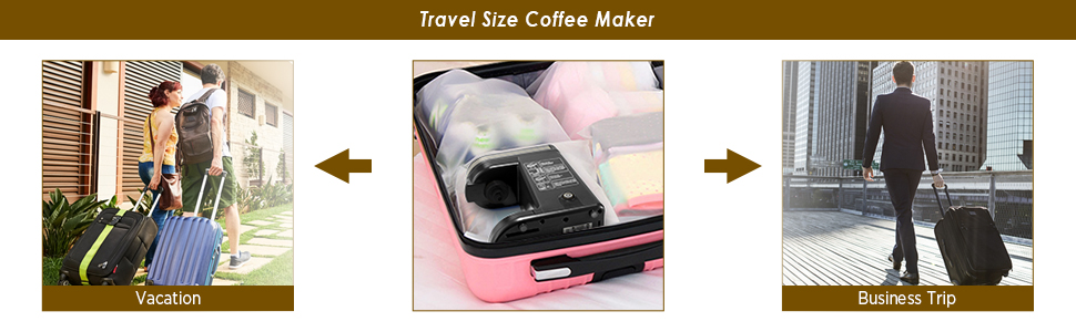 Travel Size Single Cup Coffee Maker