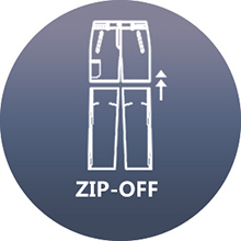 zip off