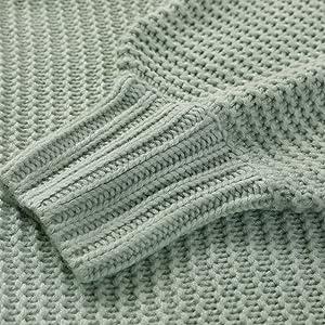 lantern sleeve sweaters for women
