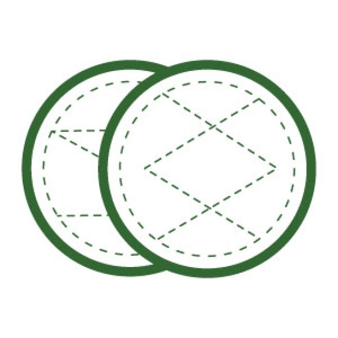 abschminkpads wiederverwendbar, waschbare wattepads, ohne plastik, pads abschminken waschbar
