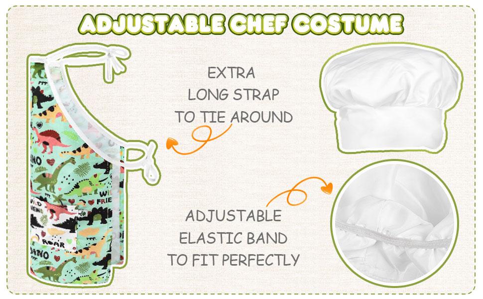 Adjustable Chef Costume