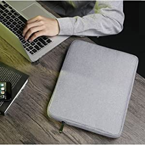 grey canvas macbook bag 13 15 inch