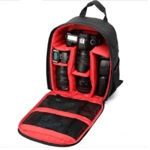 Camera bag for dslr Slr waterproof for canon Nikon camera backpack