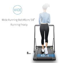 treadmill Wide belt