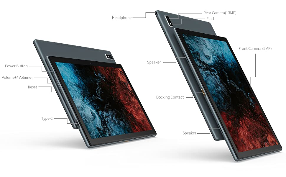 tablet android 10.0