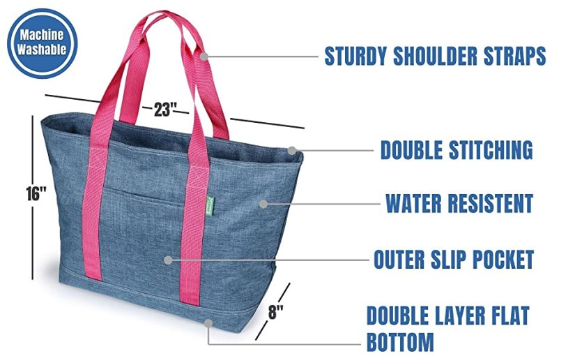 Creative Green Life tote bag features