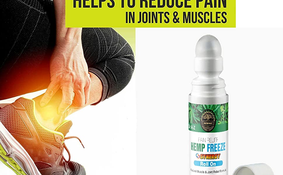 Dr A-Z Natural Oils helps  Massager to Relieve Muscle Soreness and Stiffness
