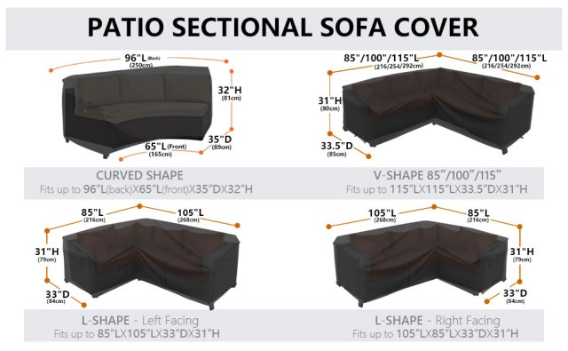 Sectional Sofa Cover