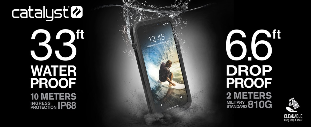 Waterproof case for iPhone 12 Pro Max by Catalyst