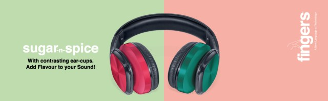 FINGERS Sugar-n-Spice with contrasting earcups