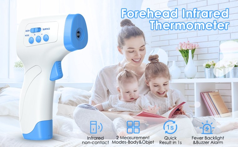Forehead thermometer adult non contact