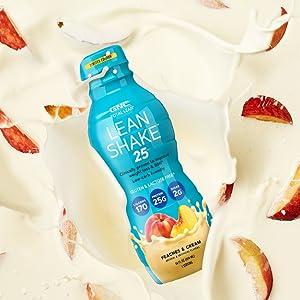 peach lean shake 25 ready to drink