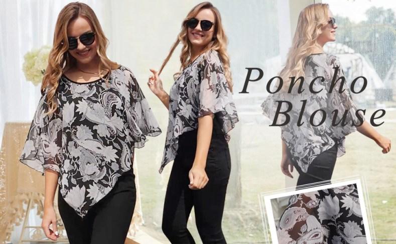 Poncho Blouses