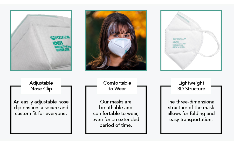 Our face mask comfortable has various functional features