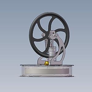 low temperature stirling engine, stirling engine low low temp stirling engine, stirling engine