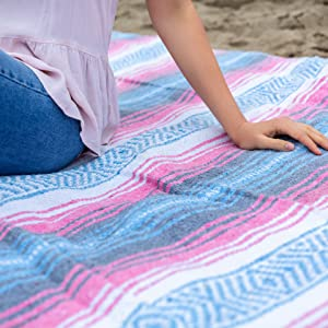 Perfect for yoga and outdoor activities benevolence la mexican falsa blankets