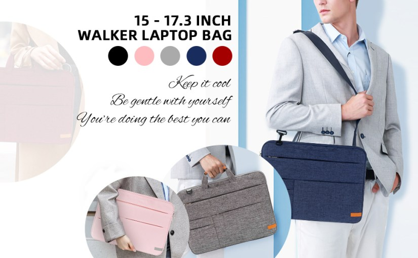 Laptop Bag 17 17.3 Inch Laptop Shoulder Messenger Bag Case Sleeve Lightweight Slim Computer Notebook
