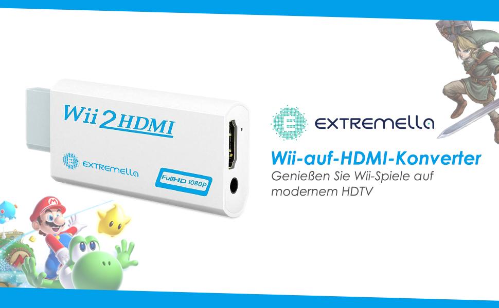 Wii-auf-HDMI-Konverter von Extremella