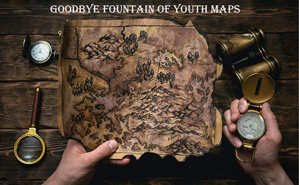 goodbye fountain of youth maps explore locate compass ancient myth fabricated