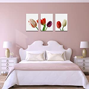 Tulip wall art