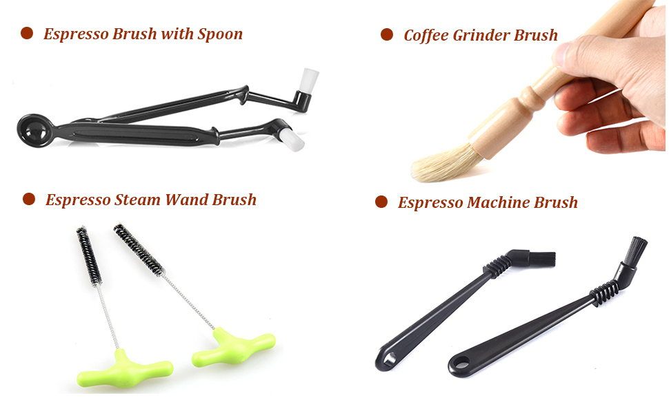 espresso machine brush