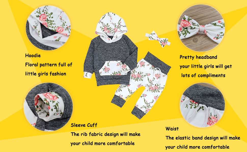 baby girl clothes baby girl floral outfit