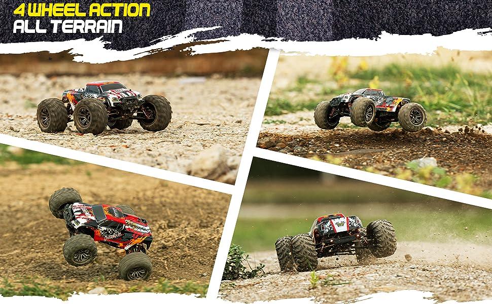 4 wheel action