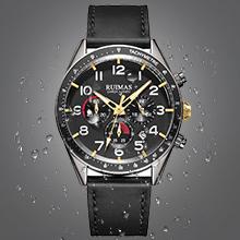 Mens Watches Chronograph Wrist Watches Date Calendar Analog Quartz Watches Luminous