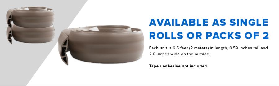 single rolls or packs of 2