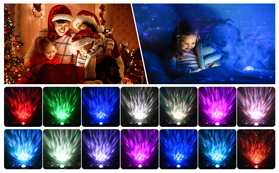 Sky Laser Star Projector Ocean Wave Night Light Projector