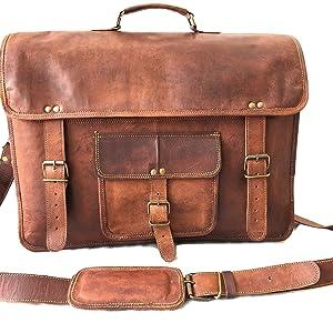 leather laptop bag for men