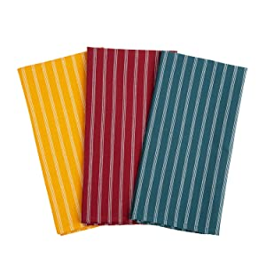 The lint-free trendy dish cloth set is made of pure microfiber.
