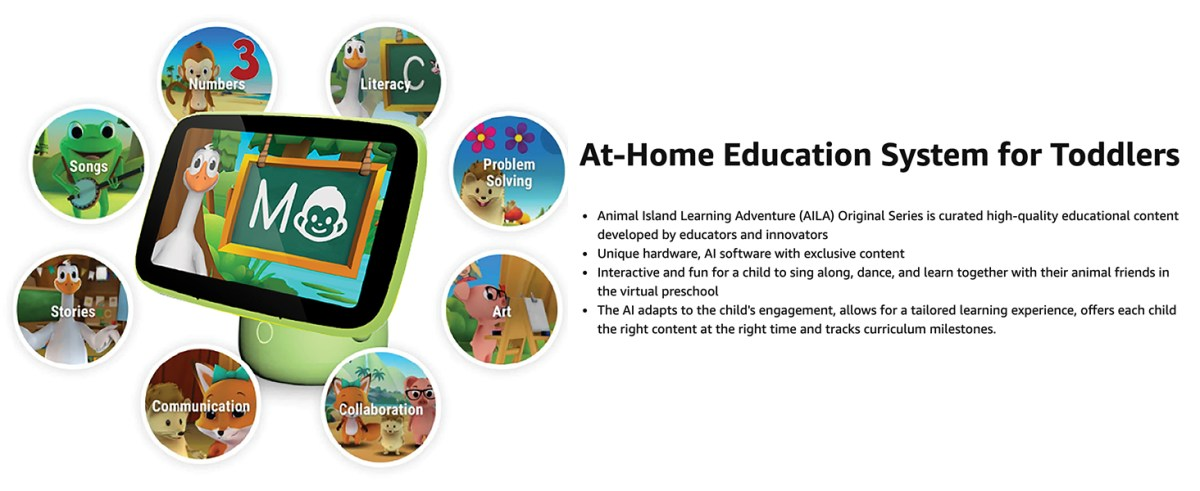 At home education System for Toddlers AILA Sit & Play