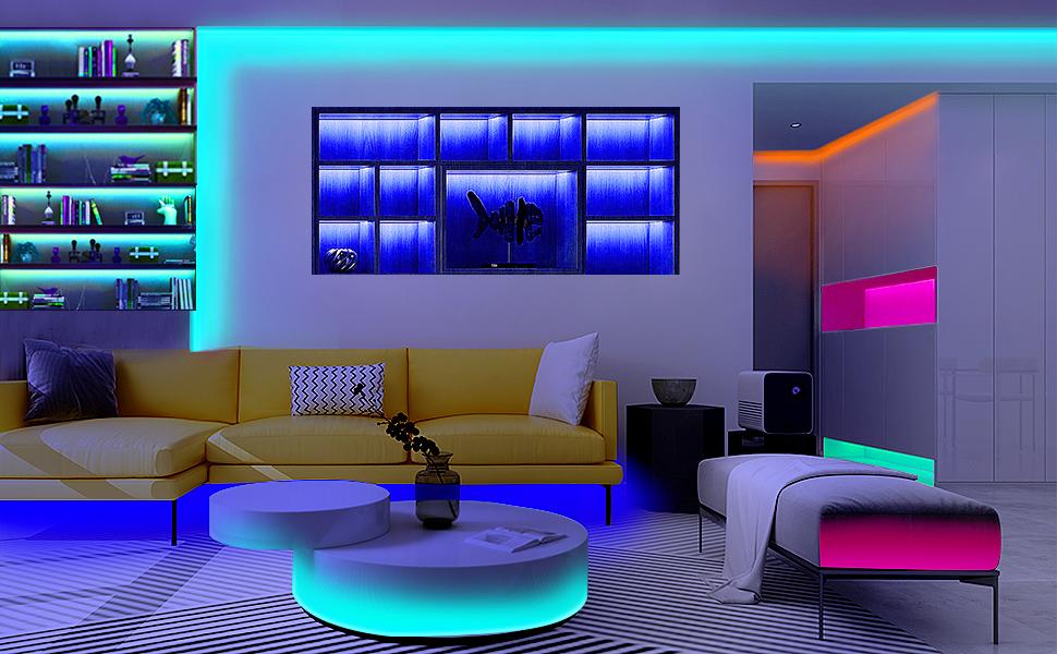 Unltra-Long 65.6FT Led strip lights