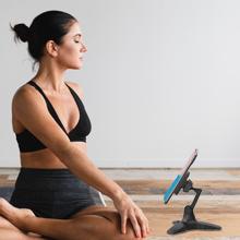yoga phone stand