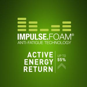 impulse foam active energy return