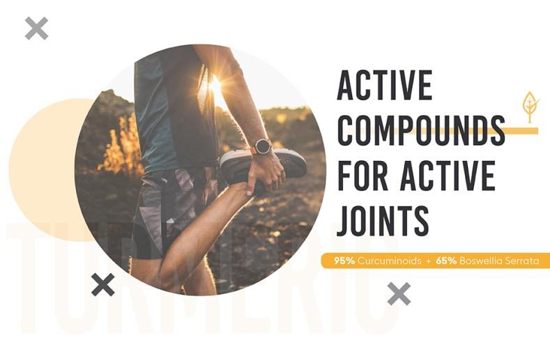 active compounds curcumin c3 active joints