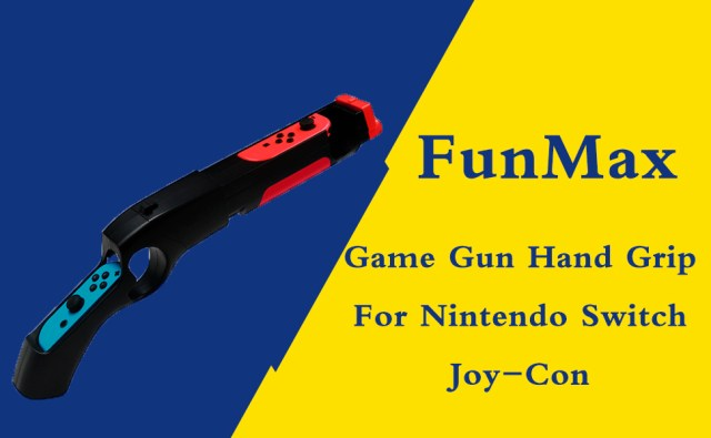 Game Gun Hand Grip For Nintendo Switch