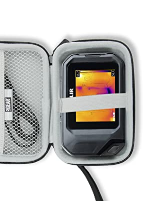 Case open with thermal imager