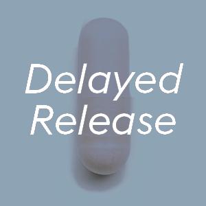 delayed release acid resistant pills