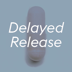 delayed release acid resistant pills
