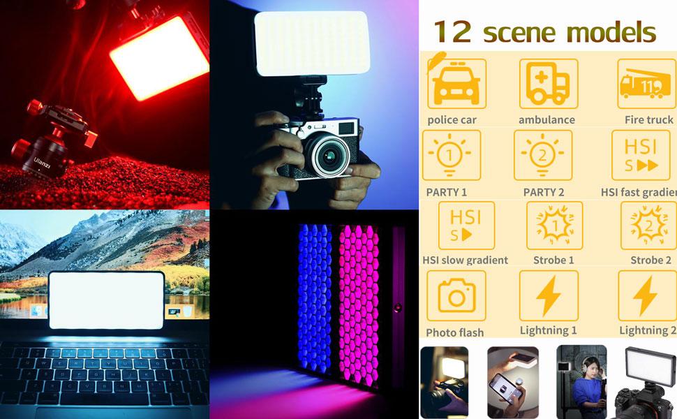 video light RGB