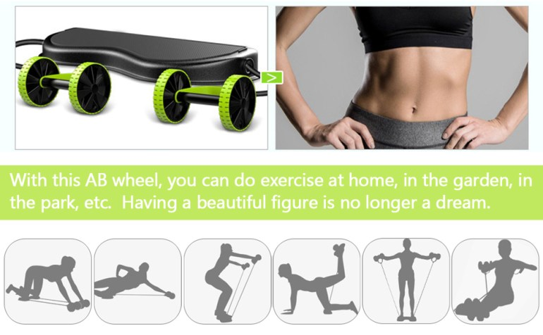 abs exercise equipment for home