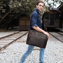 mens leather shoulder bag