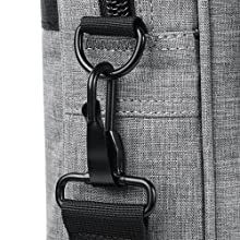 The durable metal hook of strap Ensure a secure and long-lasting usage