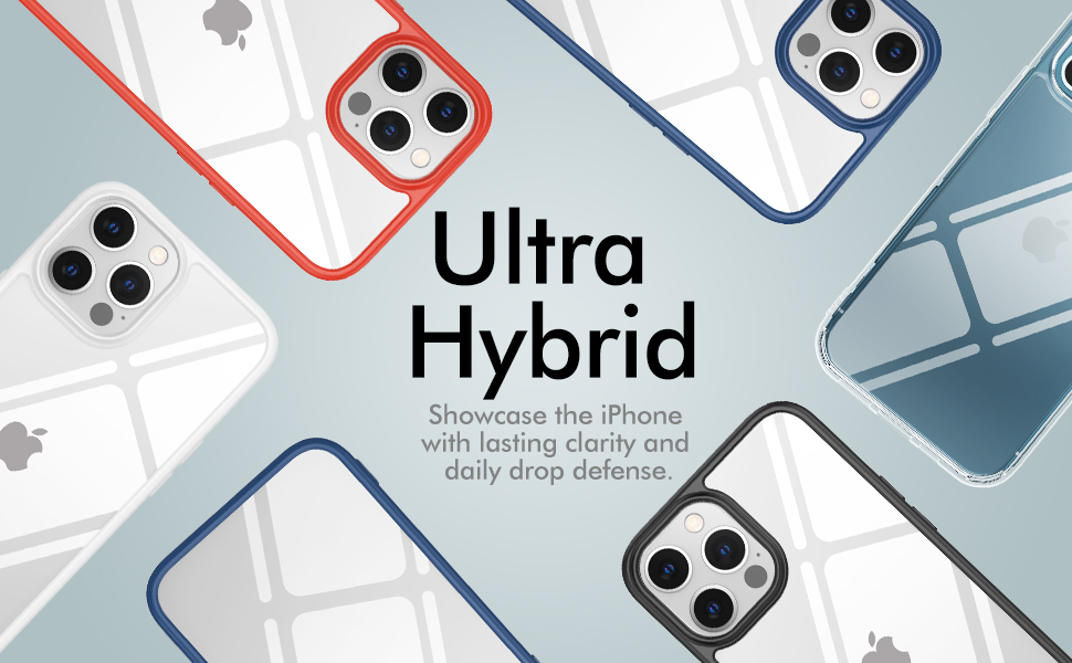 Ultra Hybrid Clear Case