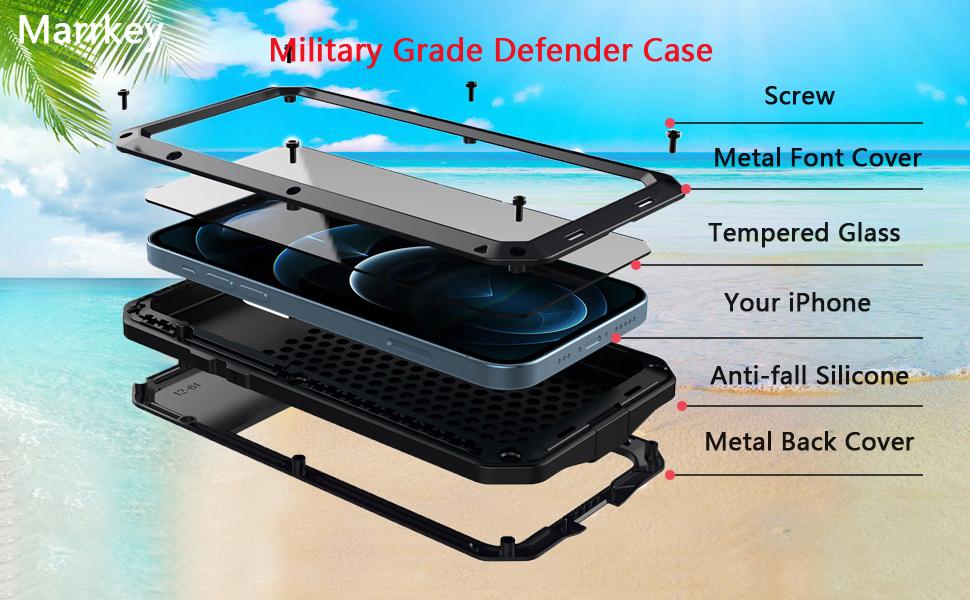 iphone 12 metal case