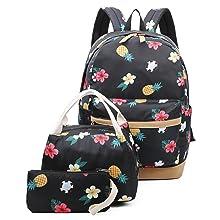 Pineapple Backpack Set