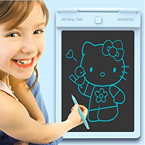 lcd electronic writing drawing graffiti painting tablet board pad ewriter for kids children toy