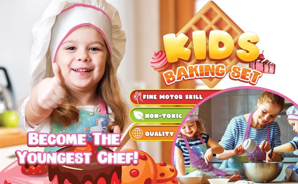 Kids Baking Sets Cooking Utensils